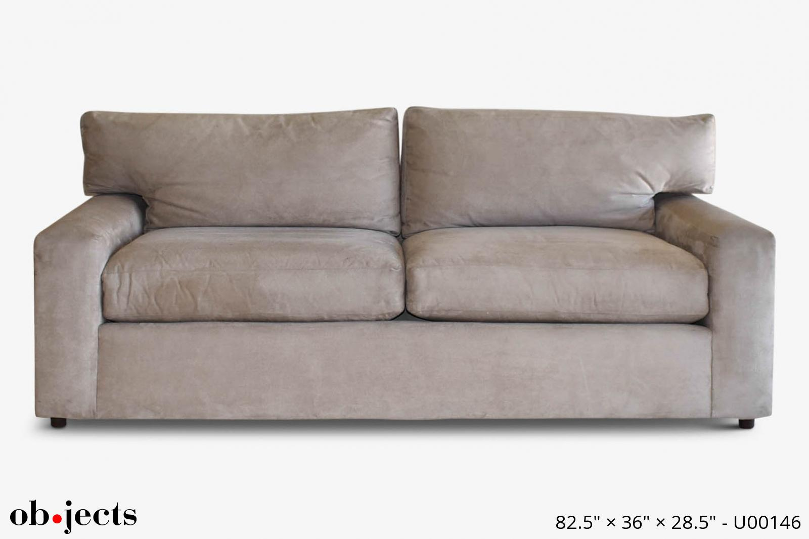 Sofa Mushroom Ultra Suede Ob Jects