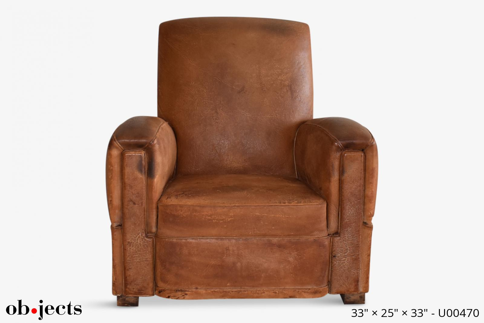 Miraculous Chair Club Vintage Cognac Distressed Leather Objects Camellatalisay Diy Chair Ideas Camellatalisaycom