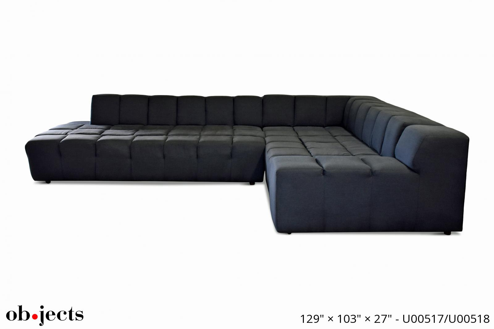 Swell Sectional Sofa Navy Blue Extra Large Tufting Objects Short Links Chair Design For Home Short Linksinfo