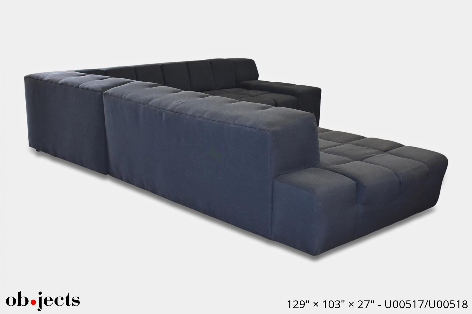 Marvelous Sectional Sofa Navy Blue Extra Large Tufting Objects Short Links Chair Design For Home Short Linksinfo